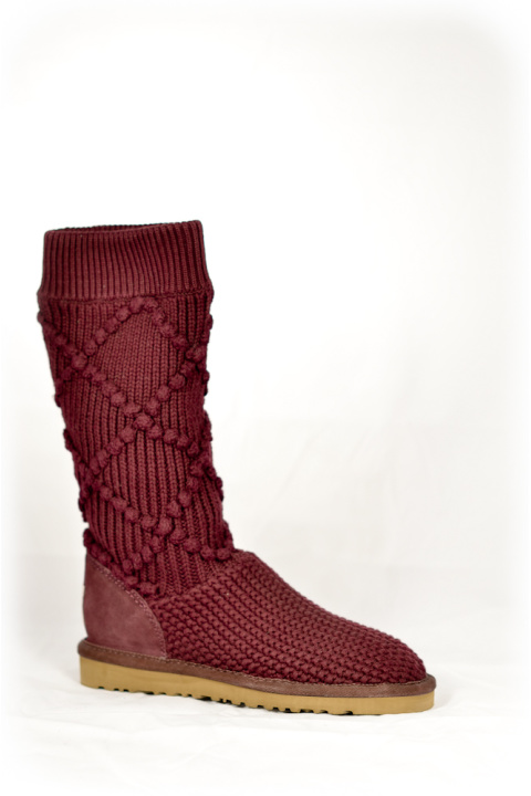 Вязанки . Артикул: CC DRSG 5879 PURPLE