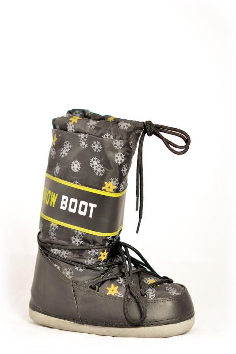 Сапоги . Артикул: Snowboots Black Snejinka