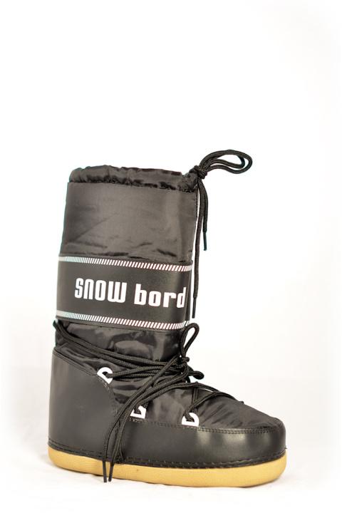 Сапоги . Артикул: Snowboots Black