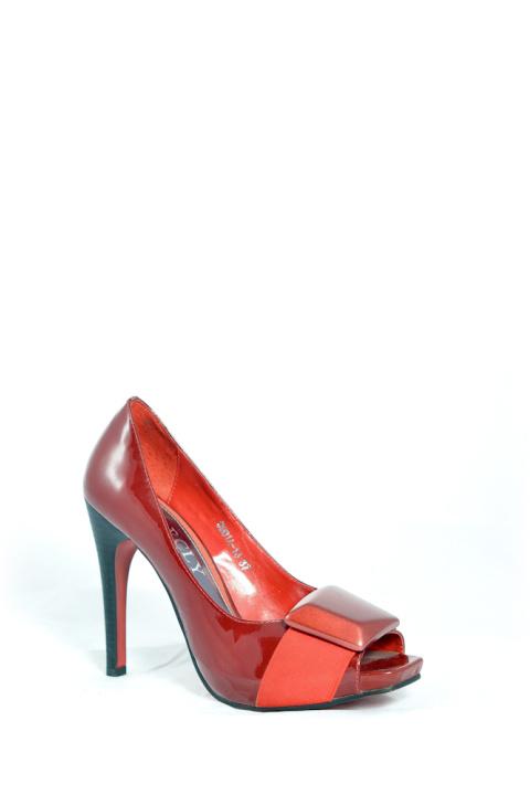Туфли . Артикул: FLY Barcly 9901-13 red