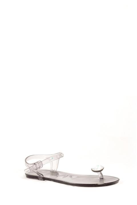 Босоножки . Артикул: Chanel  NK-3 серый rezina
