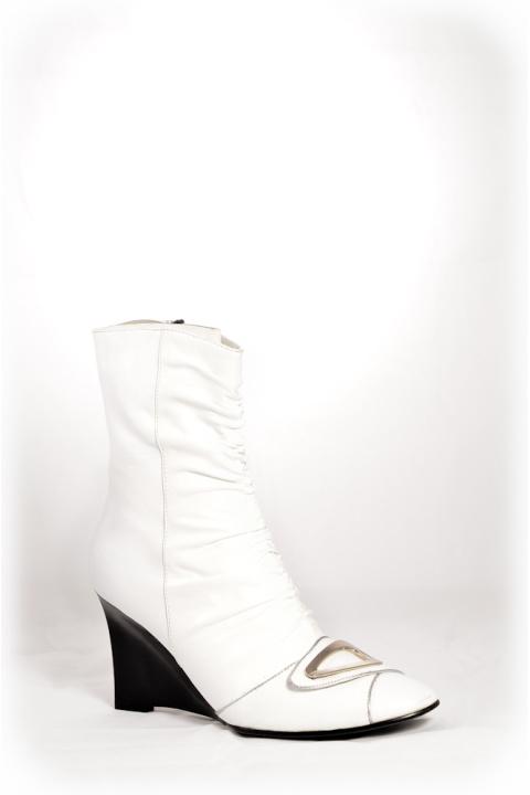 Сапоги . Артикул: RS 179-1B white
