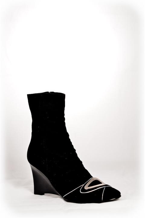 Сапоги . Артикул: RS 179-1 black