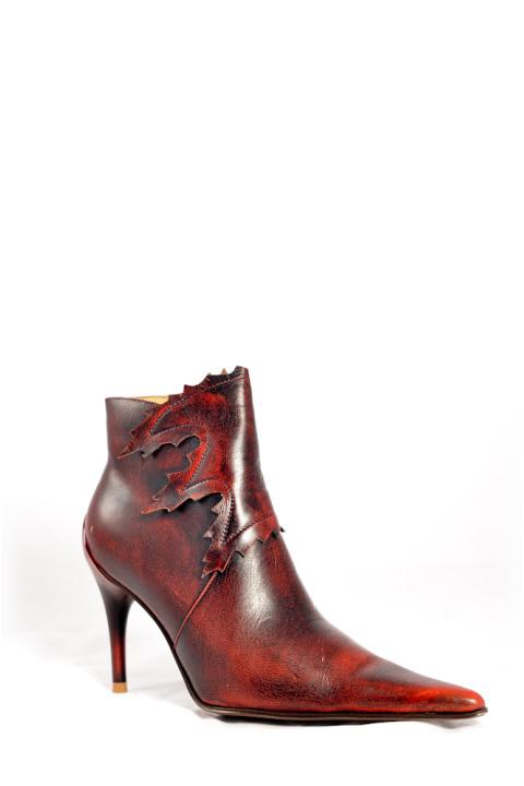 Ботинки . Артикул: Medea 258-66B red