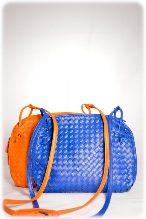 Сумка . Артикул: 10029 blue+oranje