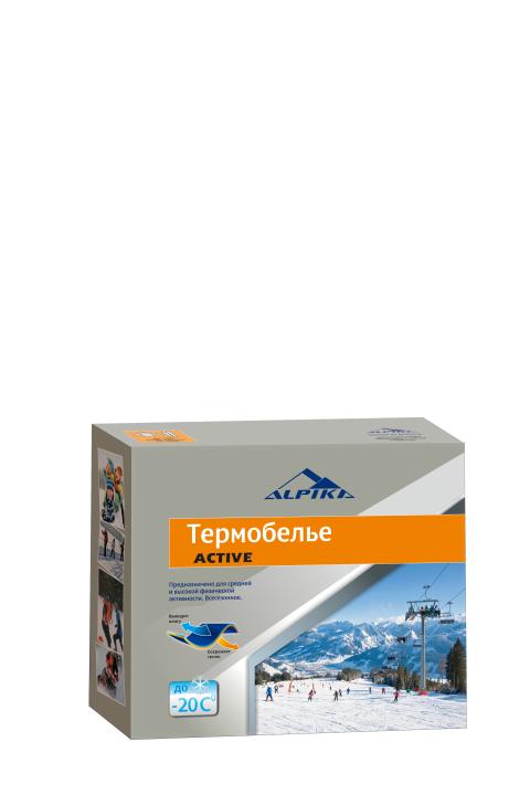 Термобелье (комплект) ALPIKA. Артикул: Термобелье ACTIVE (-20) 200 гр