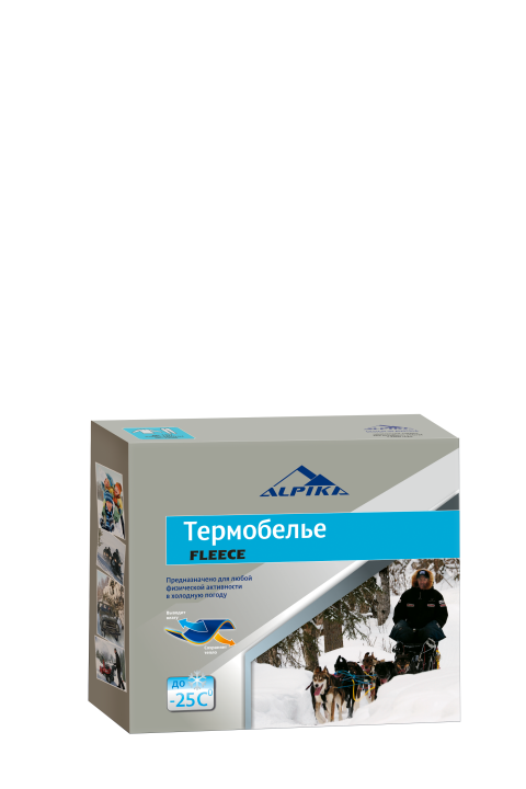 Термобелье (комплект) ALPIKA. Артикул: Термобелье FLEECE (-25) 200 гр