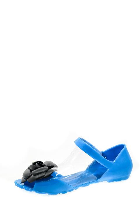 Босоножки . Артикул:  Chanel BLUE rezina