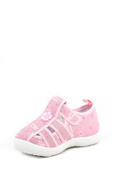Туфли текстильные Ладья. Артикул: CC Ладья 118144 pink