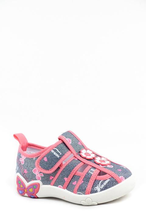 Туфли текстильные Ладья. Артикул: CC Ладья 118143 gray