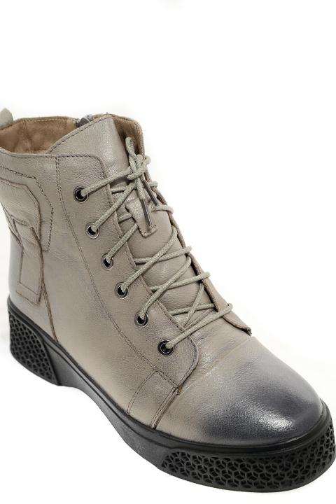 Ботинки Klasiya. Артикул: Klasiya D2703E-H1-M grey