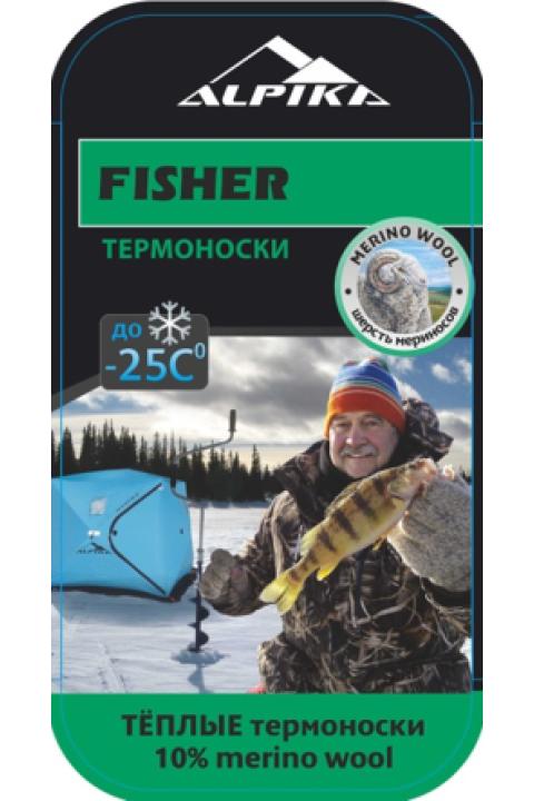 Термоноски ALPIKA ALPIKA. Артикул: Термоноски  FISHER (-25) 130 гр