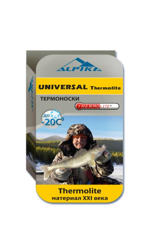 Термоноски ALPIKA ALPIKA. Артикул: Термоноски UNIVERSAL Thermolite (-20) 80 гр