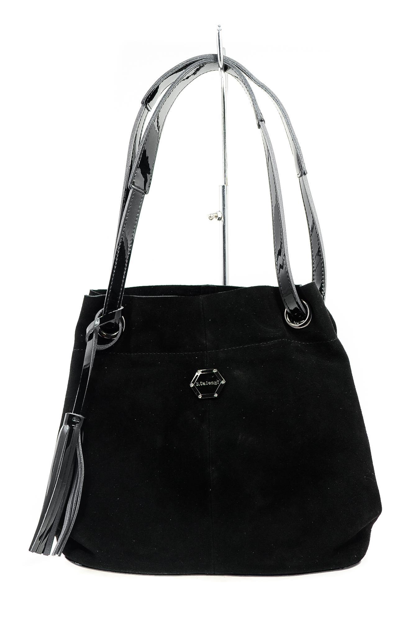 СумкаA8637-4 black O18